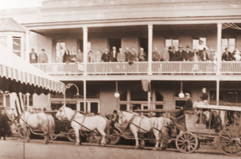 Historic Photograph of a Miner Street Building in Yreka, CA