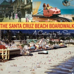 Santa Cruz Beach Boardwalk is an amusement park built next to the beach in Santa Cruz, California. A favorite ride there is the old wooden roller coaster, called The Giant Dipper. http://journeycalifornia.com/santa-cruz-ca-mission-community-history/