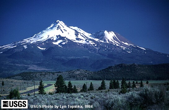 Mt. Shasta, north of Dunsmuir train town