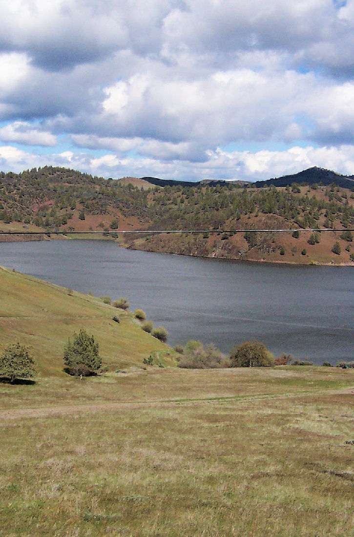Iron Gate Reservoir.