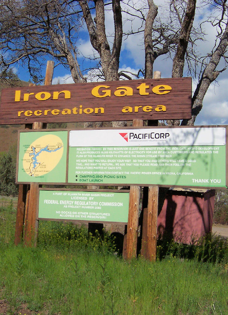 Welcome to the Iron Gate Recreation Area!